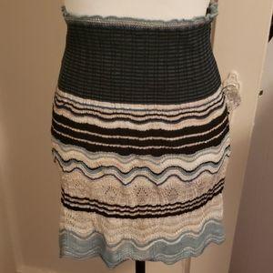 M Missoni crochet-knit moni skirt